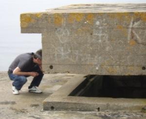 Jon Kilkade can often be found rooting around old battlefields.