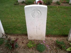 Ernest Spence, killed on D-Day.