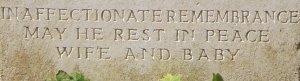 Ceredig's grave - detail