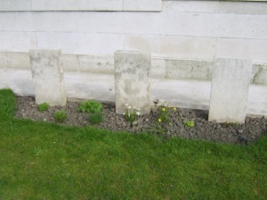 Three German graves.