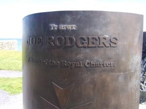 Bronze memorial