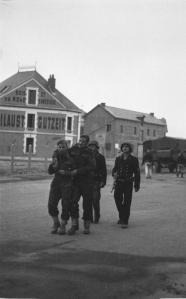 Commandos under prison escort