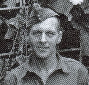 Sgt Major Les Spence