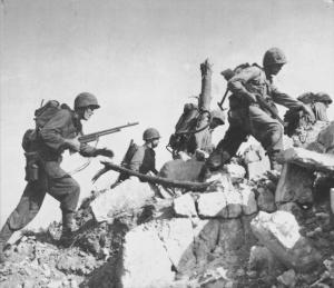 US Marines on Okinawa
